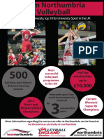 Volleyball - Flyer