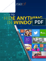 How to Hide Anything in Windows