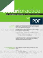 Sfaturi Practice Pentru Pacienții Cu Limfedem