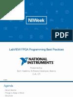 LabVIEW FPGA Programming Best Practices