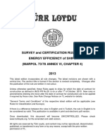 Turk Loydu Survey and Certification Rules on Energy Efficiency of Ships