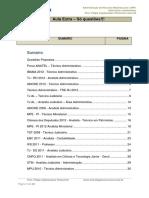 Administração de Recursos Materiais - Aula 04 - Extra