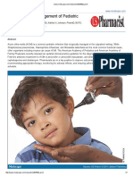 Update on Management of Pediatric Acute Otitis Media