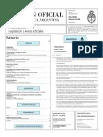 Boletín Oficial de la República Argentina, Número 33.392. 03 de junio de 2016