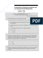 FSA IFRS Test Questions
