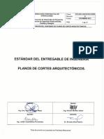 Estándar Cortes Arquitectonicos