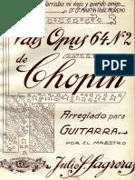 Vals Op.64-2 (Guitar Solo)