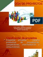 1. Clasificación de Proyectos 1