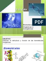 BIOMOLECULAS ORGANICAS E INORGANICAS.ppt
