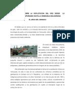 Informe Sobre Arco Minero Del Orinoco