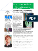 June 2016 Church Newsletter