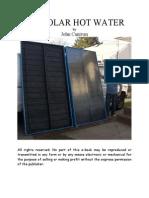 DIY Solar Collector Hot Water
