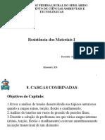 Resistencia Dos Materiais 1 - Prof João Victor - Cargas Combinadas