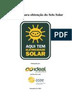 Diretrizes Selo Solar REV2014 Dez