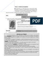 Guía 3º lenguaje