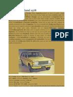 Dodge 1500 Rural 1978