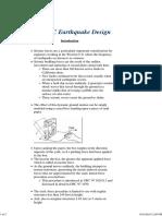 UBC Earthquake Design