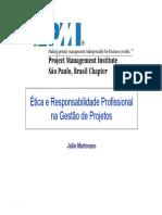 Ética em projetos