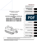 (1986) TM 9-2350-311-10 Operator's Manual for Howitzer, Medium, Self-Propelled, 155mm M109A2, M109A3, M109A4, M109A5