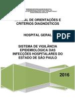 Manual de Orientações e Critérios Diagnósticos Hospital Geral