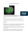 Laser Vivo- Célula Humana Emite Raios Laser