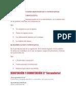 Significaciones Denotativas y Connotativas