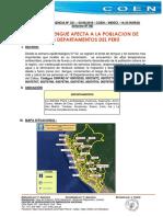 Brote Dengue Afecta Poblacion Peru
