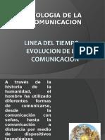 Línea del tiempo, evolución de la comunicación