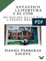 Ferreras Savoye, Daniel - Lo Fantástico en La Literatura y El Cine. de Edgard Allan Poe a Freddy Krueger