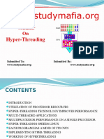 Mech Hyper Threading Ppt