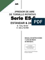 Sullair ES-6+Spanish