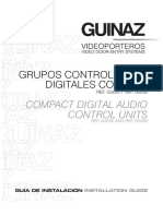 g3250 y g3260 Grupos Control Audio Digital g3250 y g3260
