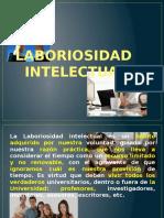 Laboriosidad Intelectual