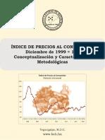 Índice de Precios Al Consumidor Base 1999