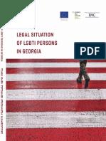 LEGAN SITUATION OF LGBTI PERSONS IN GEORGIA