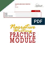 Rtt - Narrative Writing Practice Module