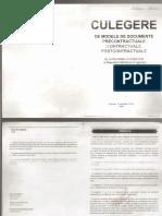 Culegeri de Modele de Documente Part 1
