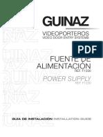 f1330 Fuente de Alimentacion Para Sistemas de Video Digitales
