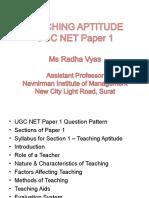 Teaching Aptitude