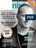 Pianist - April-May 2016