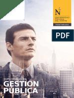 Diplomado Gestion Publica UPN 15.09.2016