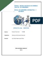 Consultas SQL - BDEnvios