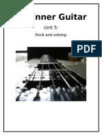 beginner guitar unit 5 booklet