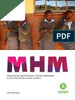 Menstruation and Menstrual Hygiene Management in Selected KwaZulu-Natal Schools