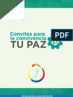 TU PAZ Convites Para La Convivencia