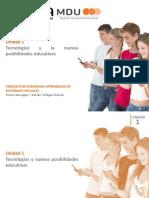 TIC y Posibilidades Educativas
