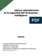 Conceptos Básicos Administración Seguridad SAP BI