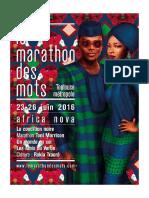 Le Marathon des Mots 2016 - du 23 au 26 juin
