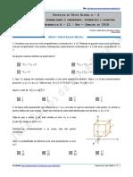 Proposta de Teste Global n.º 4 - Matemática a - 12.º Ano - Janeiro de 2016