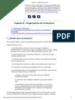 Capitulo II - Organización de La Farmacia